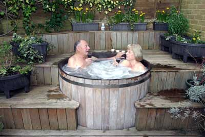 Customers comments3 for Garden design ideas hot tubs